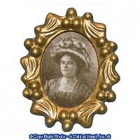 Dollhouse Oval Photo Frame & Photo - Product Image