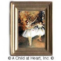 § Sale .50¢ Off - Ballerine Alla Barra Painting - Product Image