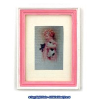 § Disc $2. Off - Framed Girl with Kittens - Product Image