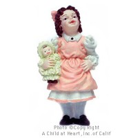 § Disc $1 Off - Dollhouse Doll - Girl with Doll - Product Image