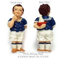 § Disc $1 Off - Dollhouse Doll - Boy with Boat - Product Image
