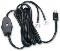 Lead-In Wire w/ Switch in Black or White - Product Image