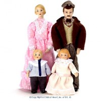 Porcelain Victorian Doll - Product Image