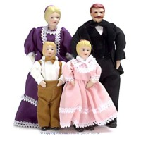 Victorian Porcelain Family - Product Image