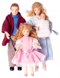 Modern Porcelain Dolls - Product Image