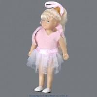 Vinyl DollHouse Doll - Modern Blonde Girl - Product Image