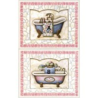 (§) Sale .40¢ Off - Bath Tub Print - Product Image