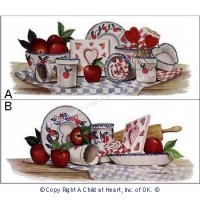 (§) Sale .50¢ Off - Kitchen Prints - Apples Assortment - Product Image