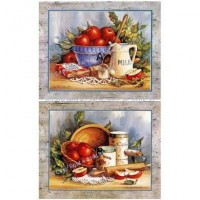 § Sale .50¢ Off - Kitchen Prints - Apple Pie - Product Image