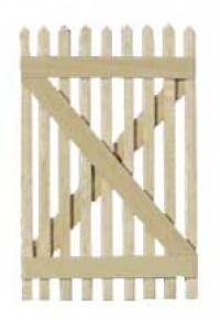 Dollhouse Picket Fence Gate - Product Image