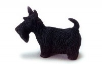 (*) Dollhouse Scottish Terrier - Product Image