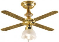 Ceiling Fan - Tulip Globe (12 Volt) - Product Image