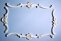 4 pc Dollhouse Frame Ceiling Carving - Product Image