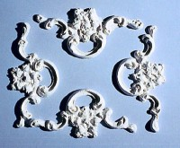 4 pc Frame Ceiling Carving - Product Image