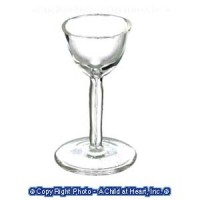 Dollhouse Miniature Glass Punch Glass - Product Image