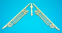 "Dollhouse Apex Trim - Adjustable 6-7/8"" W x 3-1/4"" H - Product Image"
