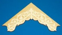 "Dollhouse Apex Trim 5-7/8"" W x 3-9/16"" H - Product Image"