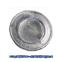 (*) Dollhouse Finished or Unfnished - Colonial Dinner Plate - Product Image