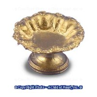 (*) Unfnished Fruit Bowl on Stand - Product Image