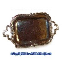 (*) Unfnished - Fancy Rectangular Tray - Product Image