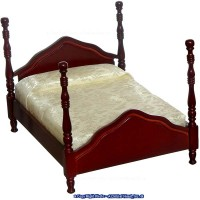Dollhouse Double Cannonball Bed - Product Image