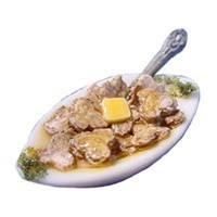 Dollhouse Bowl of Sauteed Mushrooms - Product Image