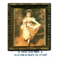 § Sale .50¢ Off - Dollhouse Little Pinkie Painting - Product Image