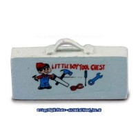 § Disc .60¢ Off - Dollhouse Toy Tool Box - Product Image