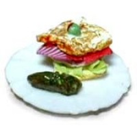 Dollhouse Sandwich with Pickle - Product Image