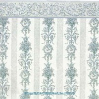 § Sale $1 Off - 2 Shts Symphony Stripe Wallpaper - Product Image