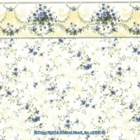 § Sale $3 Off - 3 Shts Sonata Wallpaper - Product Image