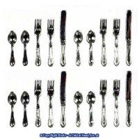 § Sale .60¢ Off - Dollhouse 20 pc Budget Silverware - Product Image
