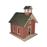 Little Red School House (Kit) - Product Image