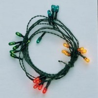 12 Bulb Color Christmas String - Product Image
