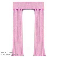 (§) Sale $5 Off - Dollhouse Pink Single Drape - Product Image