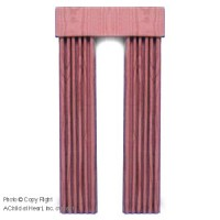 (§) Disc $7 Off - Dollhouse Rose Single Drape - Product Image