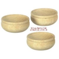 (§) Sale .20¢ Off - Wooden Bowl Set - Product Image