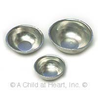 (§) Sale .40¢ Off - Dollhouse Aluminum Bowl Set - Product Image