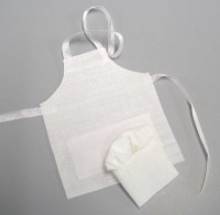 Sale $2 Off - Dollhouse Chef Apron Set - Product Image