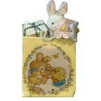 Dollhouse Filled Easter Gift Bag - Product Image