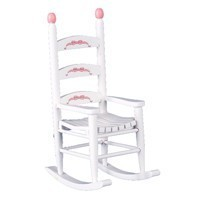 ABC Dollhouse Rocking Chair - Product Image