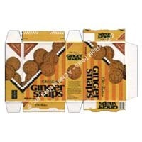 (*) Ginger Snap Cookie Box (Kit) - Product Image