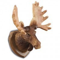 Dollhouse Moose Head Wall Trophy - Product Image
