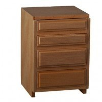 "(*) Dollhouse 2"" Drawer Base Cabinet - Product Image"