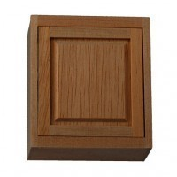 "(*) Dollhouse 2"" Upper Cabinet - Product Image"