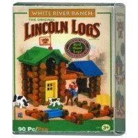 (*) Dollhouse Lincoln Logs Box - Product Image