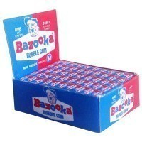 (*) Dollhouse Bazooka Bubble Gum Display - Product Image