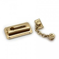 (*) Dollhouse Door Chain Lock - Product Image