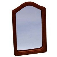 § Disc .60¢ Off - Dollhouse Arched Framed Mirror - Product Image