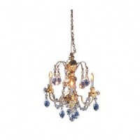 Dollhouse Nostalgia Three Arm Chandelier - Product Image